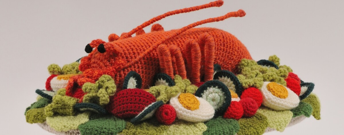 Trevor Smith Crafts el artista del crochet