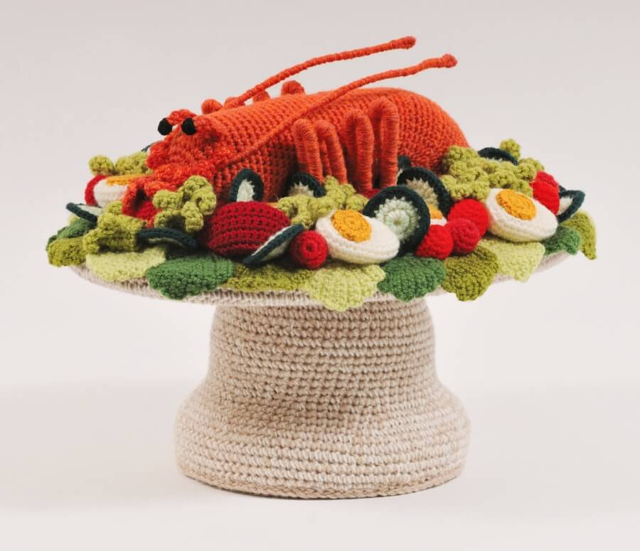 Esculturas en crochet