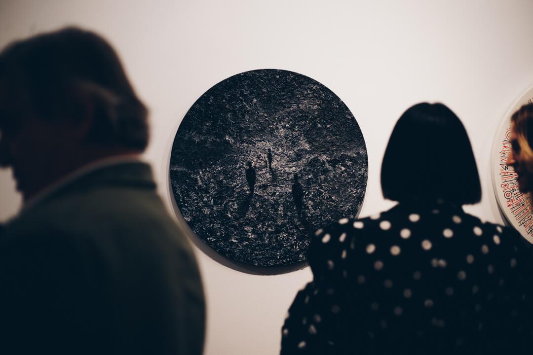 exposición de Okuda e Ink and Movement