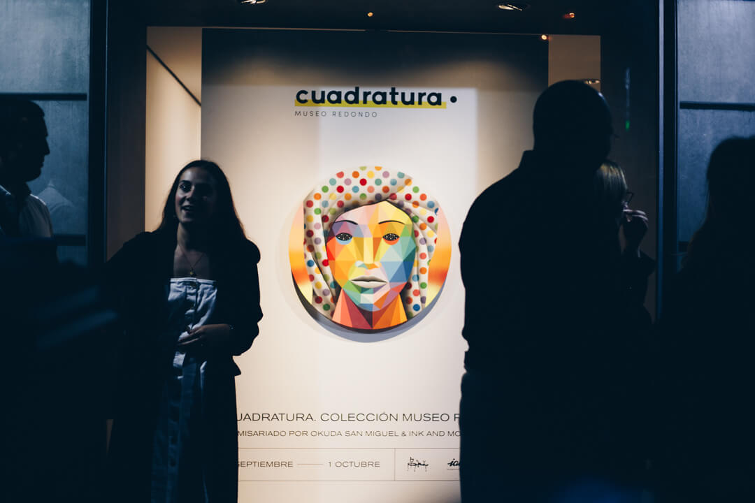 Cuadratura, exposición de Okuda e Ink and Movement