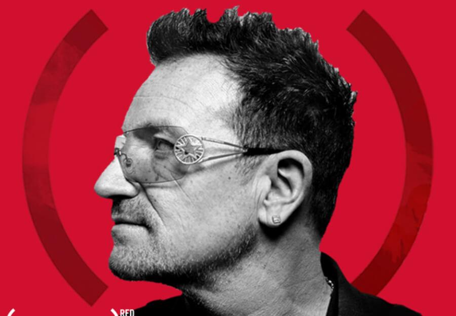 Bono anuncia campaña de street art para visibilizar la lucha en contra el SIDA