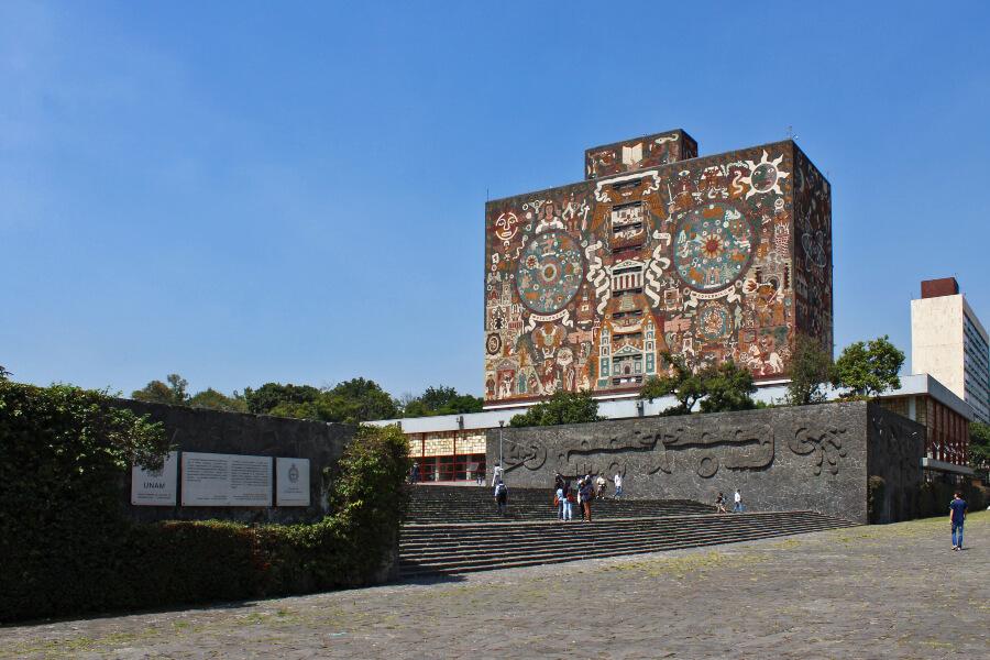 mural de la UNAM en los mejores murales