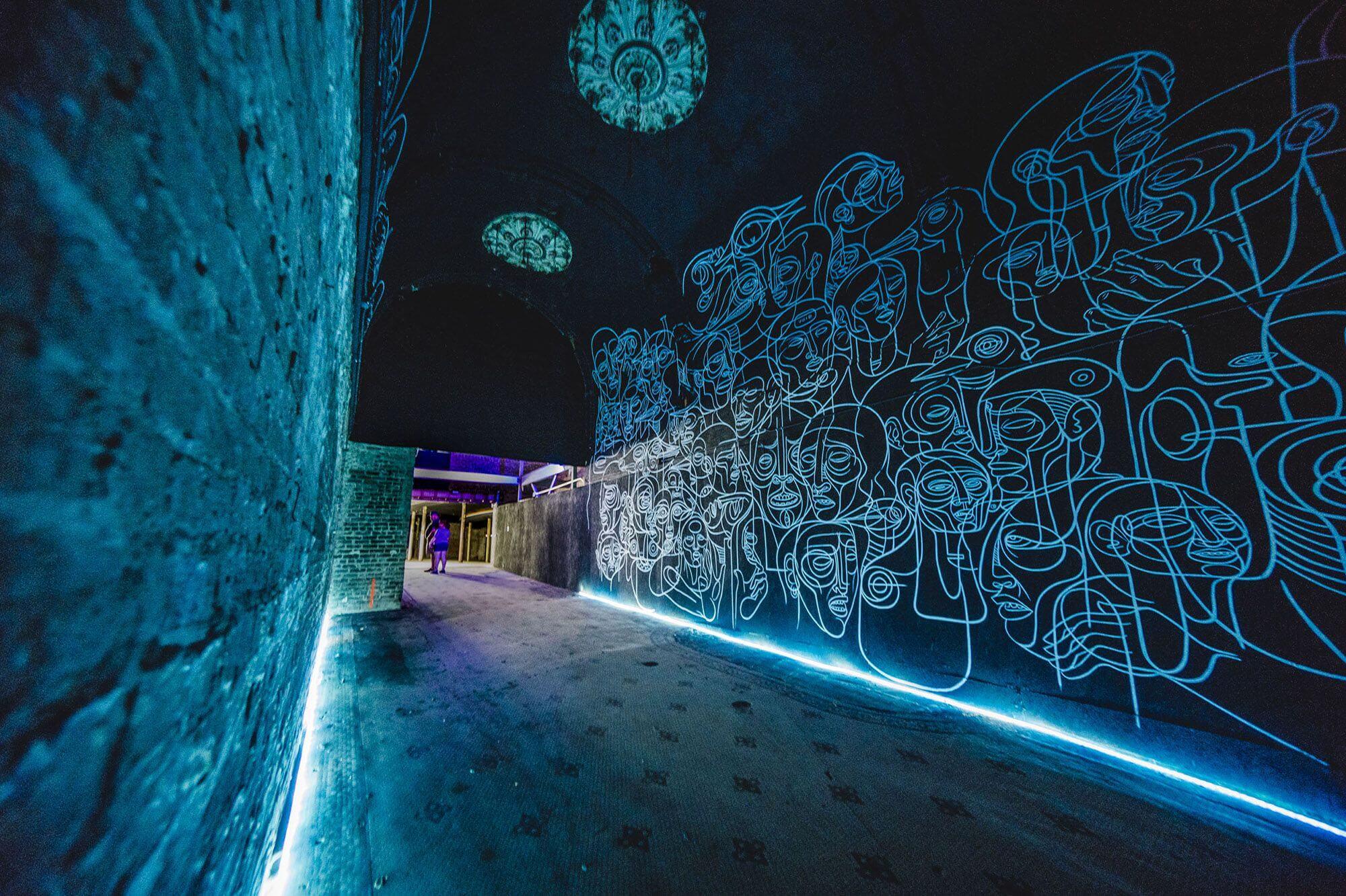 instalación de Doze Green en The Unexpected 2017
