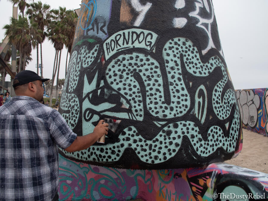 obra de Horn Dog en Los Angeles