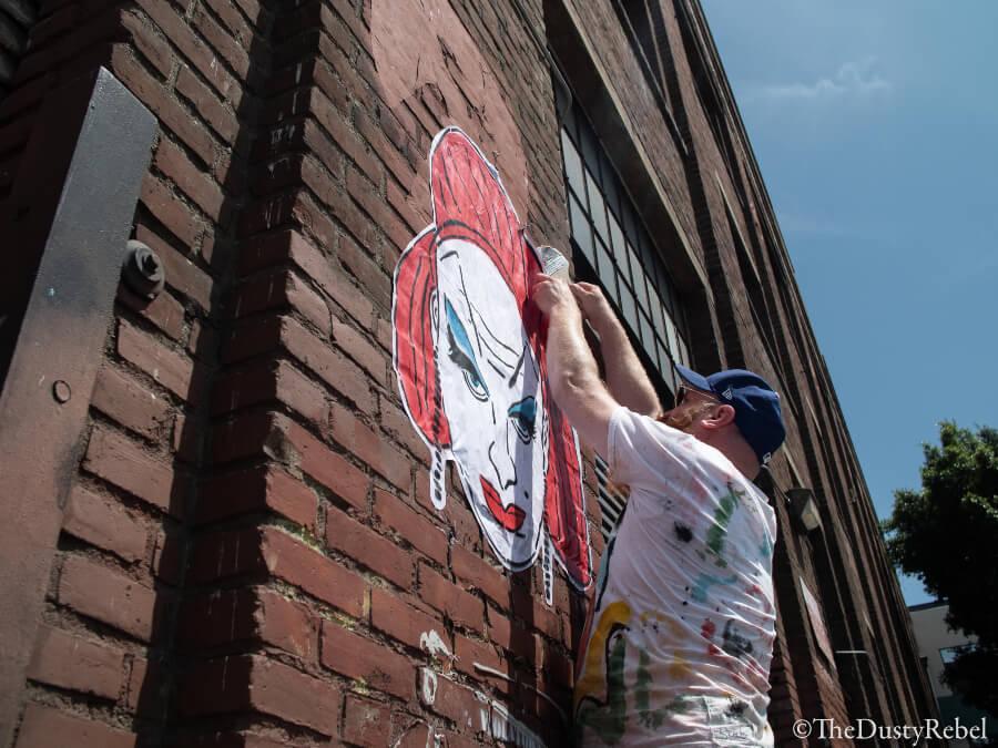 JEremy Novy street artist