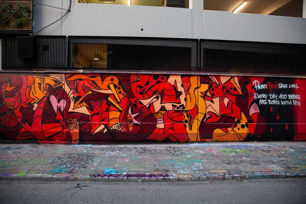 street art de (RED)