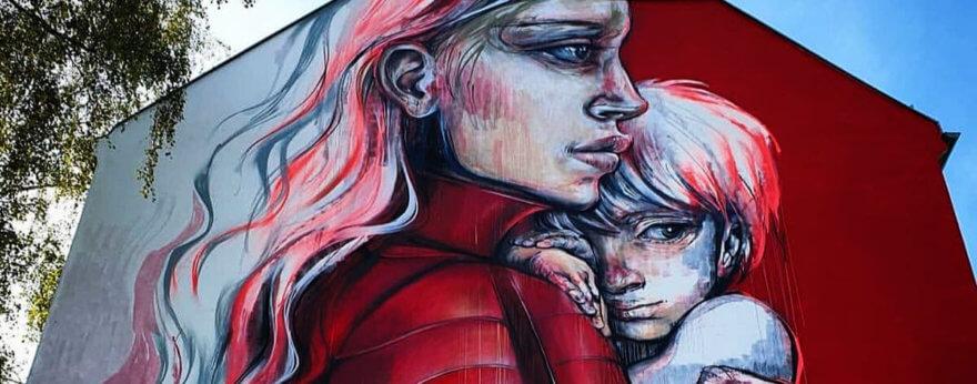 Street art en la lucha contra el SIDA