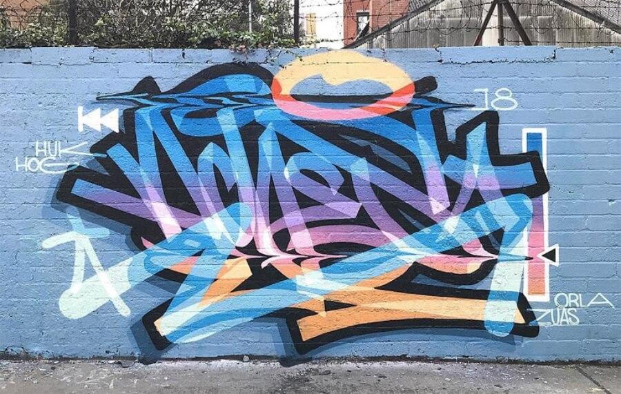 ACHES el rey del 'CGI Graffiti'