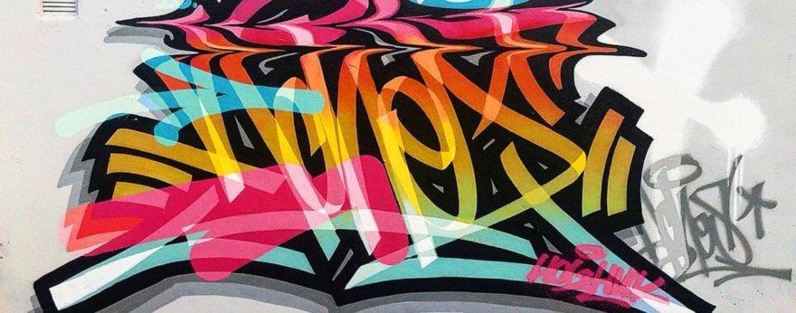 ACHES, el rey del graffiti CGI y la tipografía