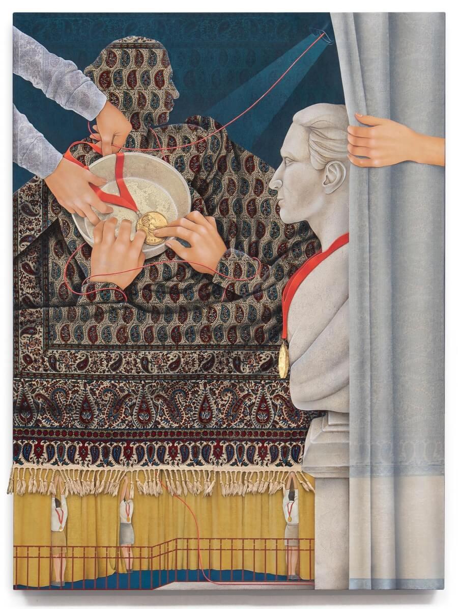 Arghavan Khosravi ilustra los derechos humanos