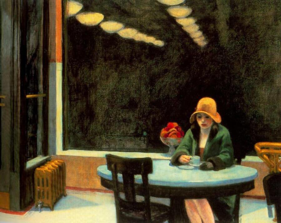 Automat de Edward Hopper