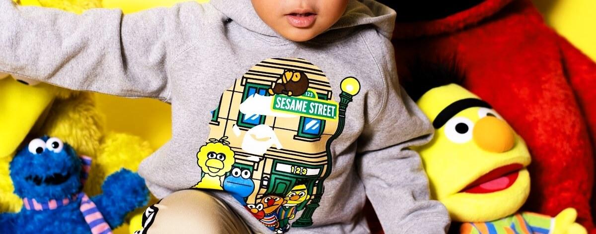 BAPE x Sesame Street en nueva colaboración