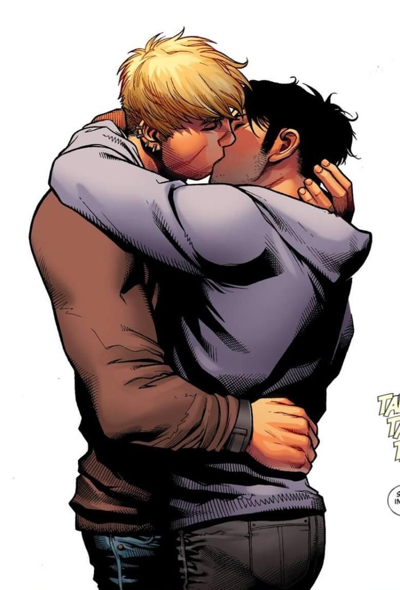 Beso gay de Avengers censurado en Brasil