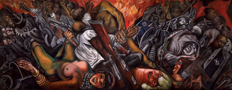 Mural Katharsis de José Clemente Orozco