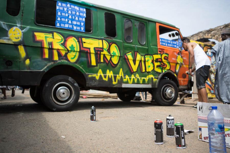 festival de arte urbano CHALE WOTE
