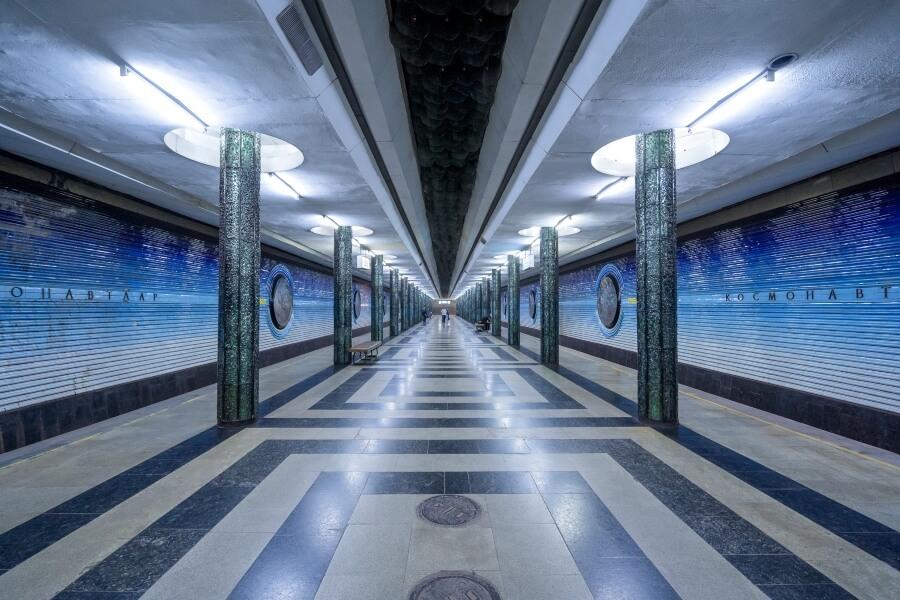Christopher Herwig fotografió metro de la URSS