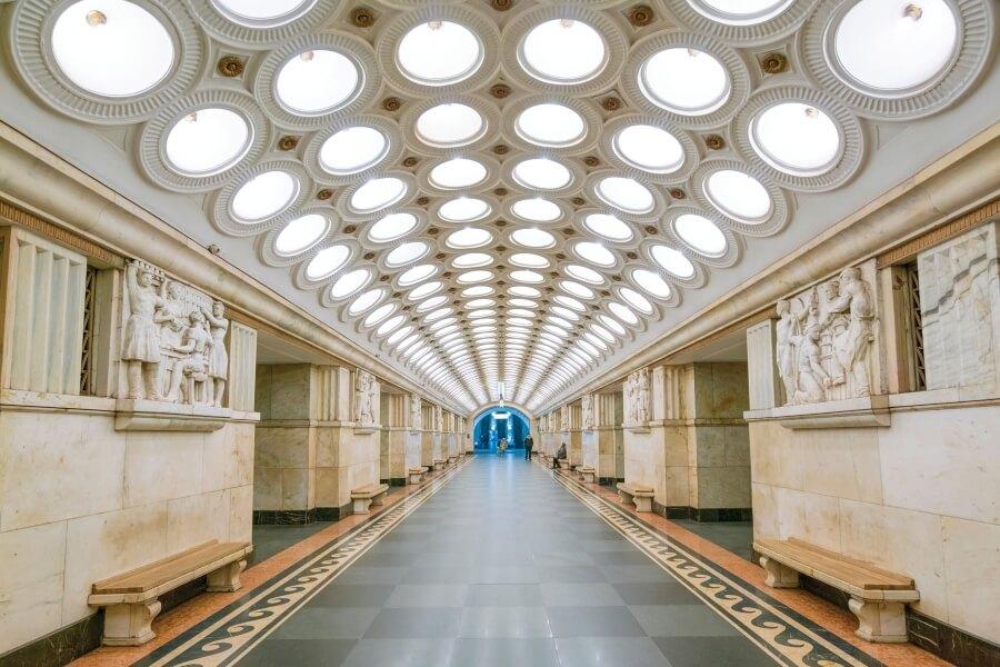 fotografias del metro de la URSS