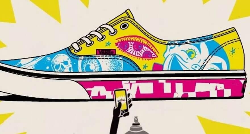 Vans lanza concurso DIY de customización de tenis