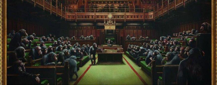 Devolved Parliament de Banksy alcanza los 11M de euros
