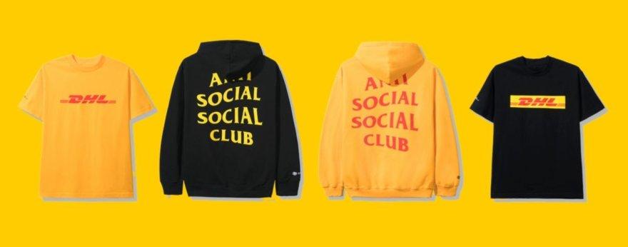 DHL y Anti Social Social Club en colaboración Express