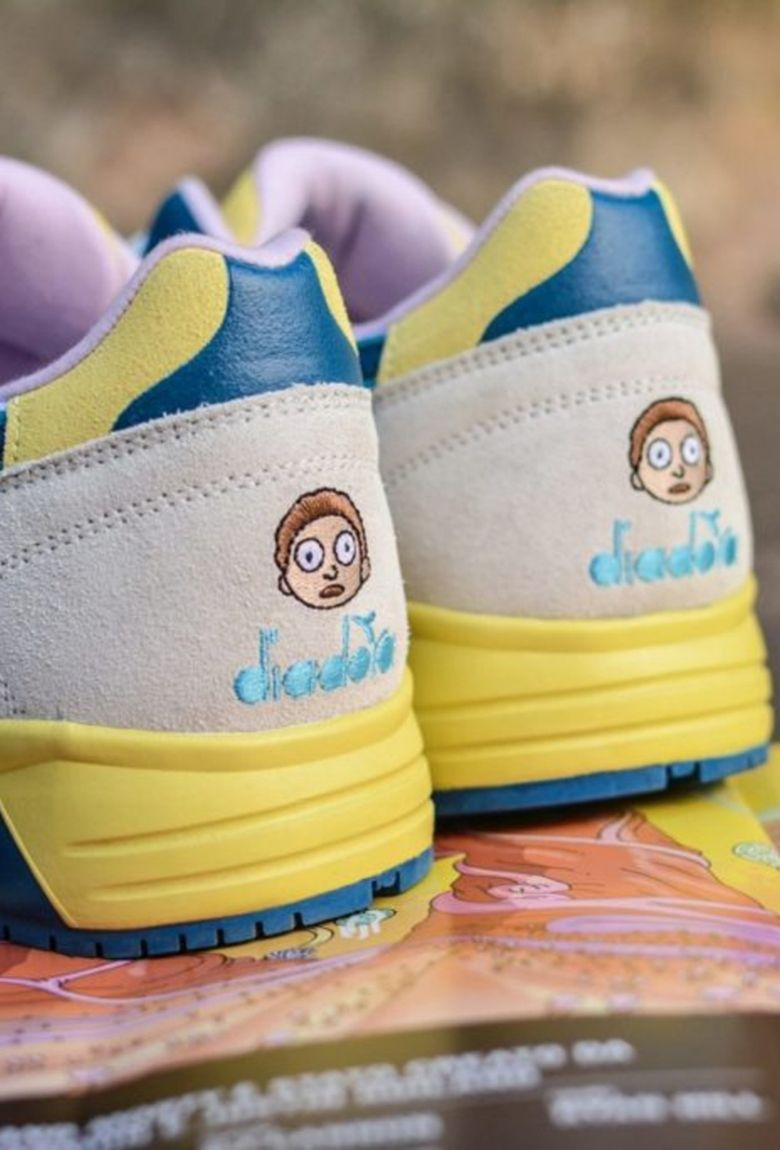 Diadora launches official Rick and Morty sneakers
