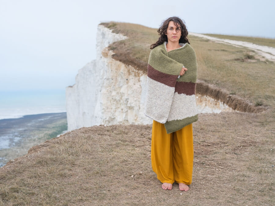 'Camouflage knitting'