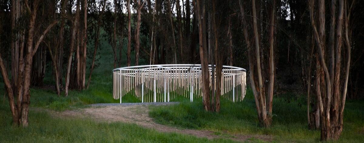 Doug Aitken creó instalación para un festival de California