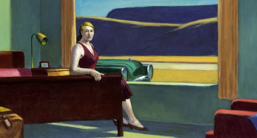 Pintura de Edward Hopper será recreada en 3D