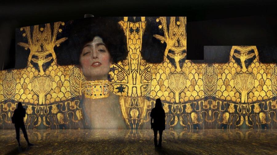El oro de Klimt, exposición inmersiva de Klimt en SEvilla