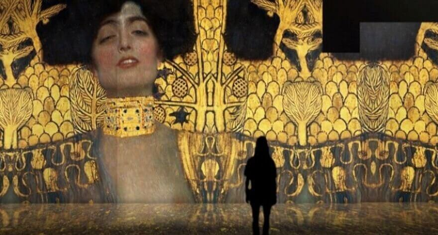 Exposición inmersiva de Klimt en España