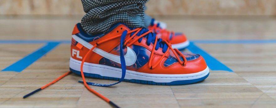Futura, Off White y Nike lanzan sneakers