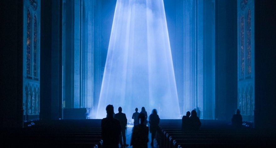 Grace Light, instalación en la Catedral de San Francisco