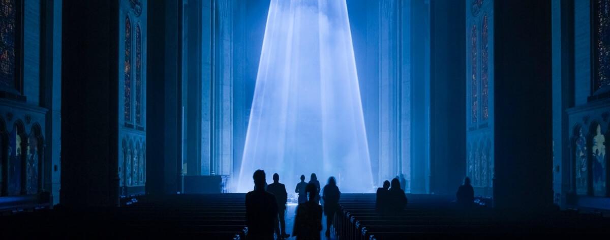Grace Light, instalación en la Catedral de San Francisco