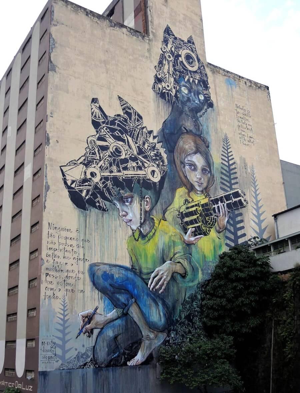 Mural en Sao Paulo