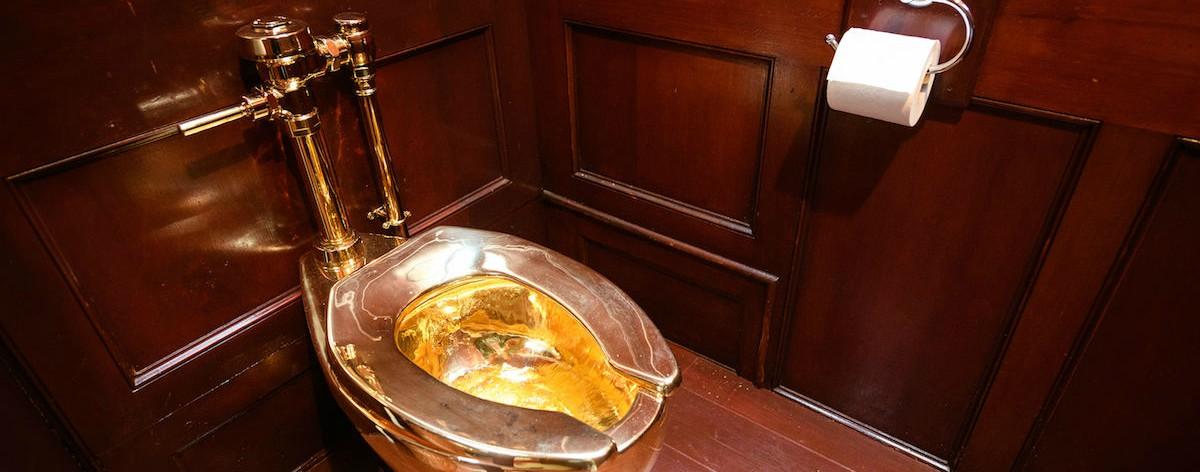 Inodoro de oro fue robado del Palacio de Blenheim
