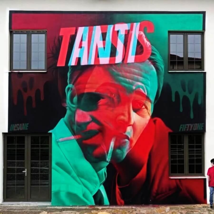 """Mural """"Antitesis"""""""