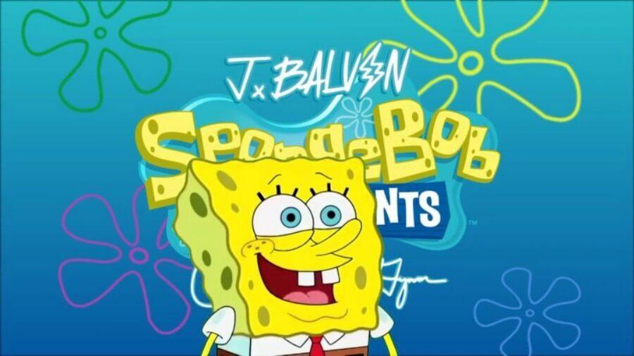 J Balvin y Bob Esponja