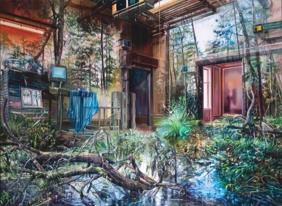 Jacob Bostrup y sus multidimensionales mundos de óleo