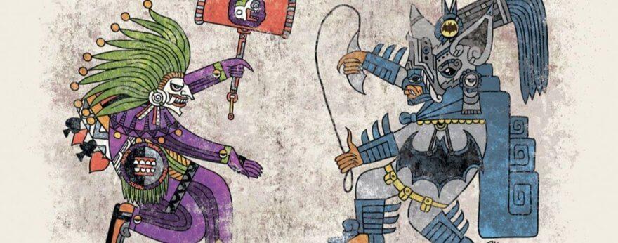 Jorge Garza, arte azteca con cultura pop