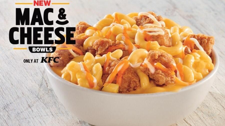 KFC nos presenta su nuevo bowl de macarrones