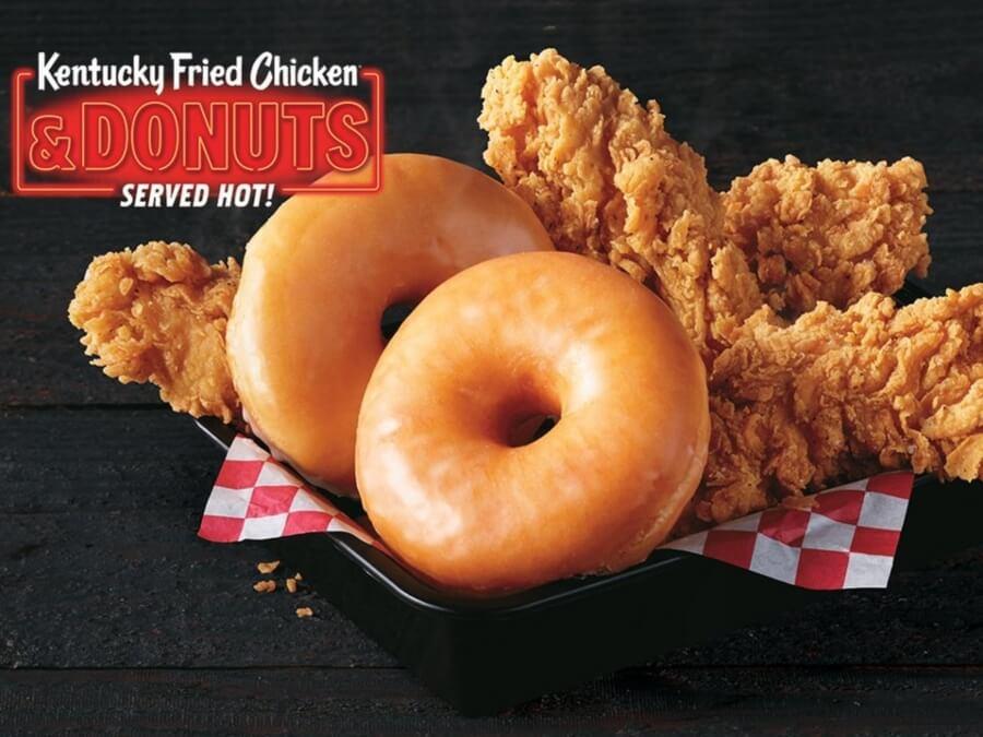 KFC venderá Chicken and Donuts