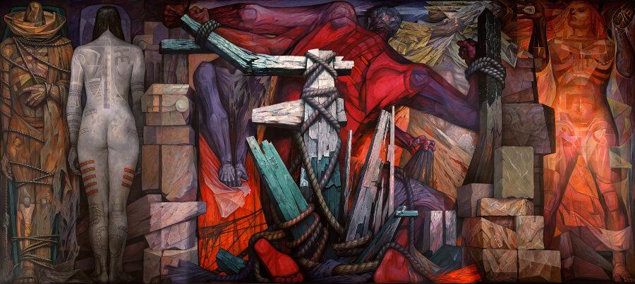 Liberación de Jorge González Camarena en los mejores murales de artistas mexicanos