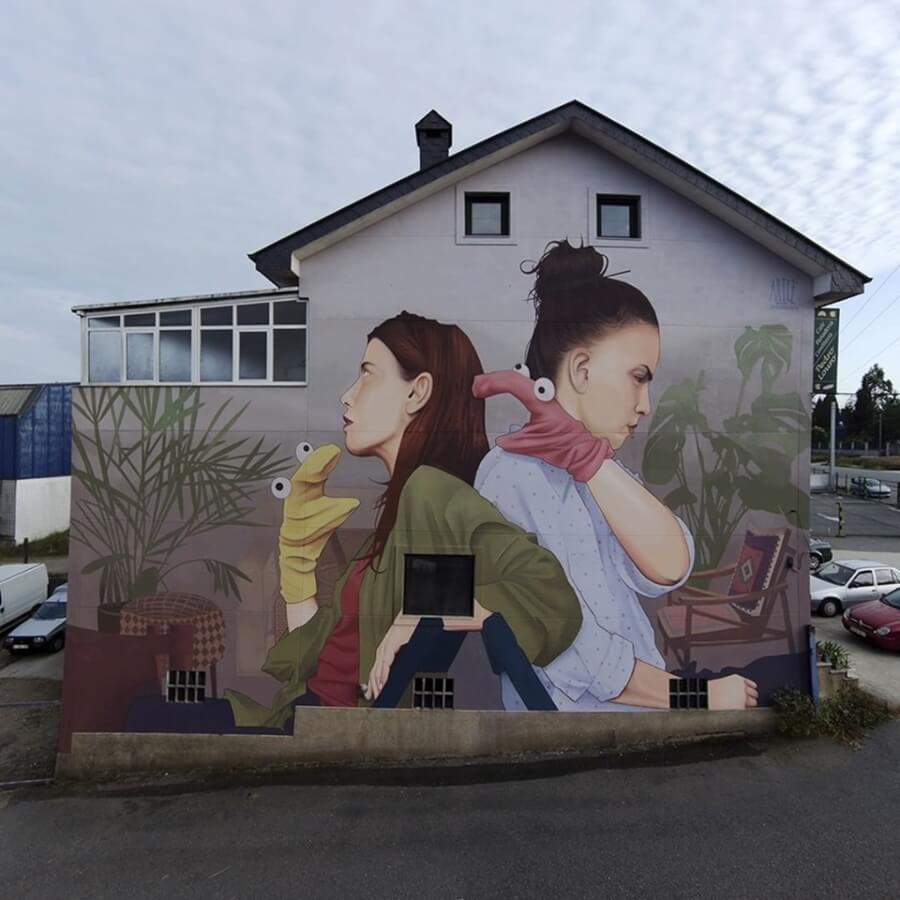 Los murales del mes de septiembre