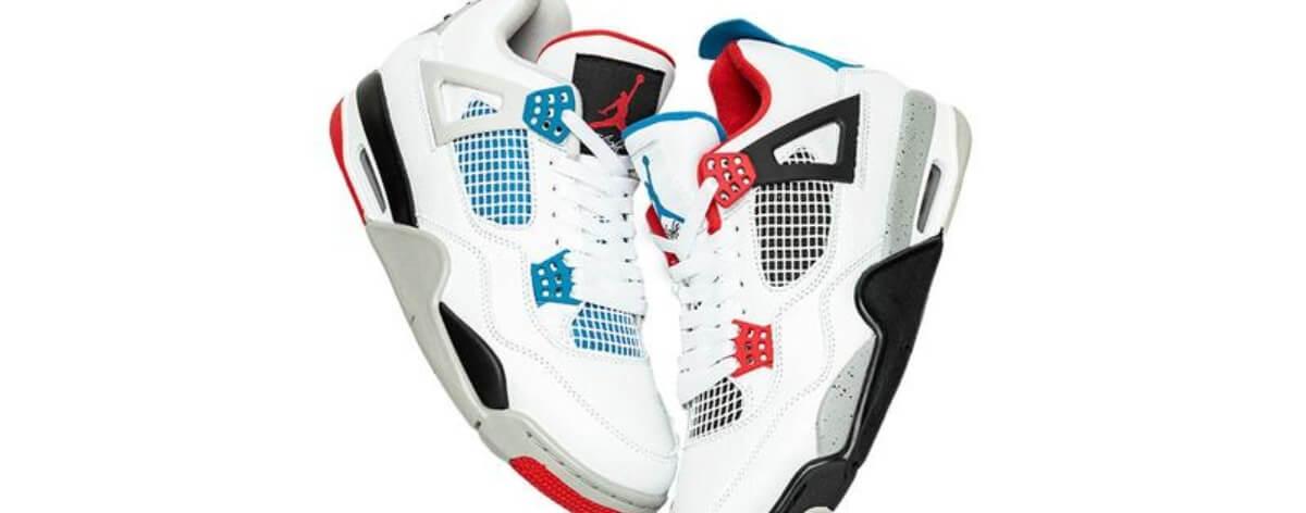 """Los nuevos Nike Air Jordan 4 """"What the"""" están increíbles"""