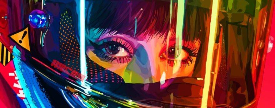 Mad Dog Jones presenta su exhibición cyberpunk