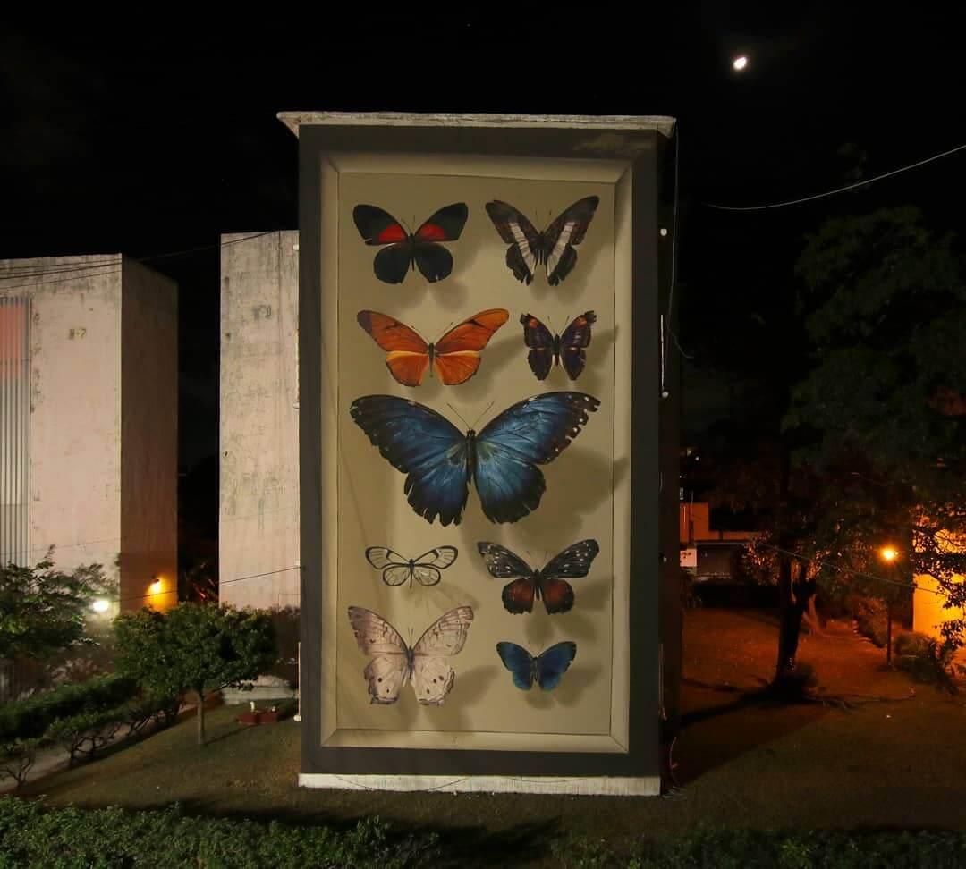 mural de Mantra en Cancún