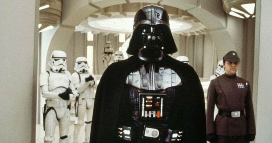Escena de Darth Vader