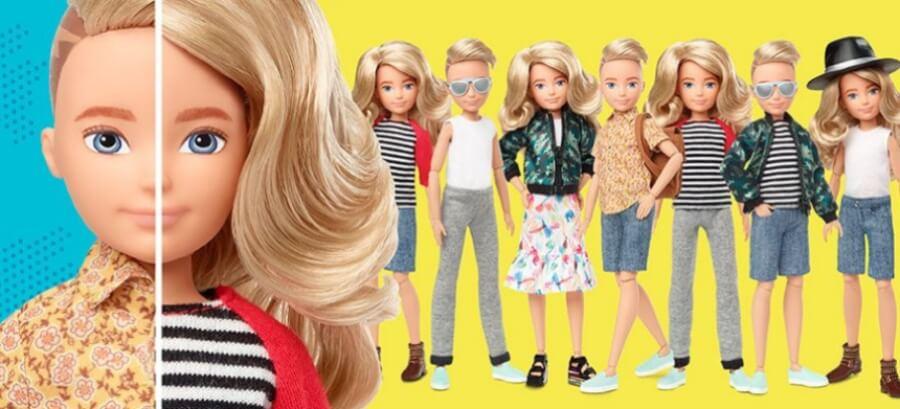Mattel lanza muñecas sin distinción de género