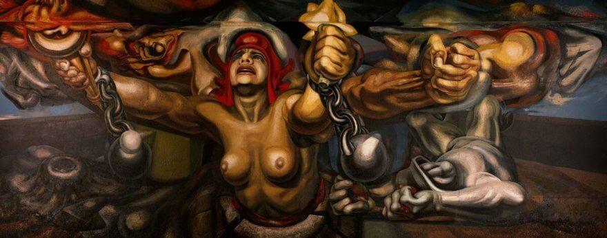 Mejores murales de artistas mexicanos de antaño