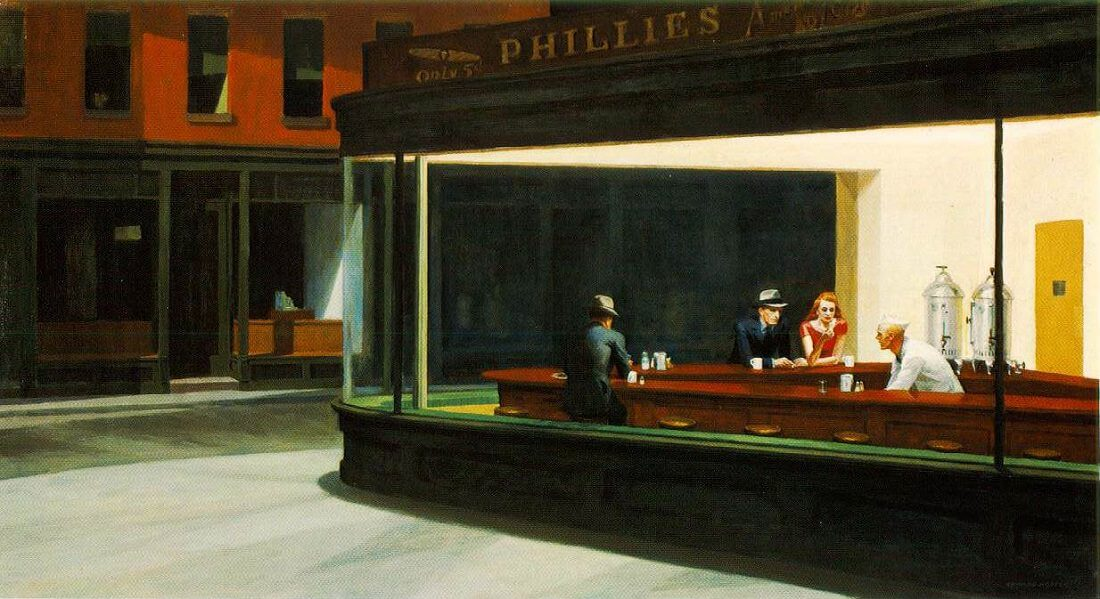 Nighthawks, pintura de Edward Hopper